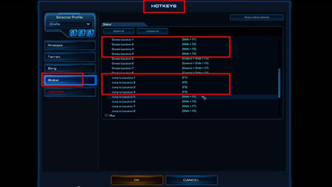 StarCraft 2 Control Groups